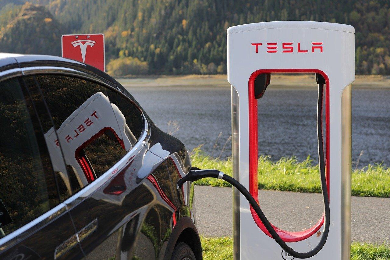 Elektrische auto van de zaak